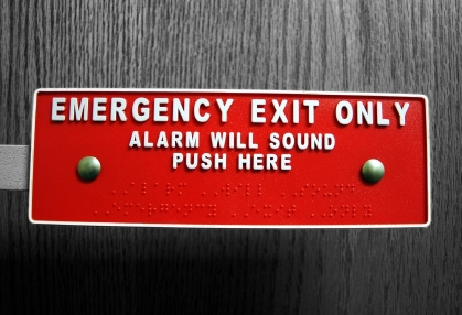 How to Keep Panic Exit Doors Unlocked